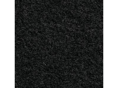 Kokosmat op maat - Synthetica (kokoslook) zwart