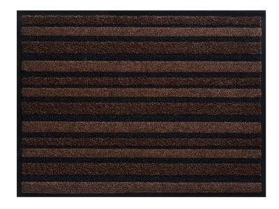 Pasklare schoonloopmat - 90x135cm Passage bruin