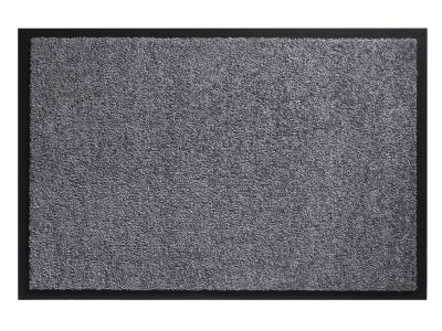 Pasklare droogloopmat - 90x150cm Twister grijs