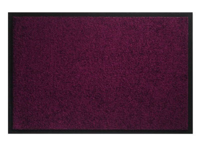 Pasklare droogloopmat - 90x150cm Twister paars