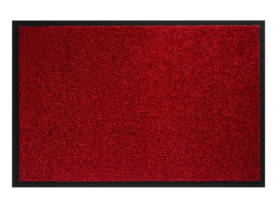 Pasklare droogloopmat - 90x150cm Twister rood