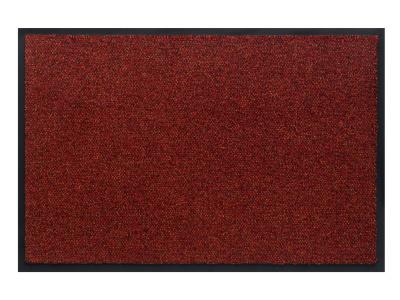 Pasklare schoonloopmat - 90x120cm Portal rood